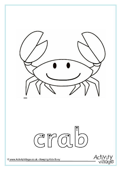 Crab Finger Tracing