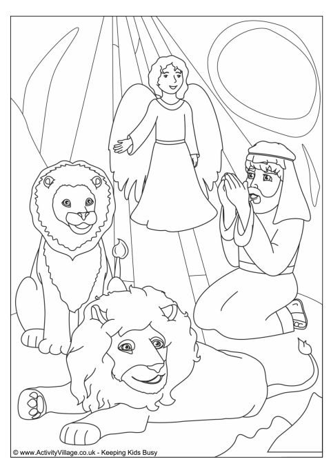 All Worksheets » Daniel And The Lions Den Worksheets