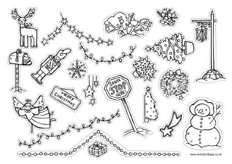 Christmas Decorations Templates