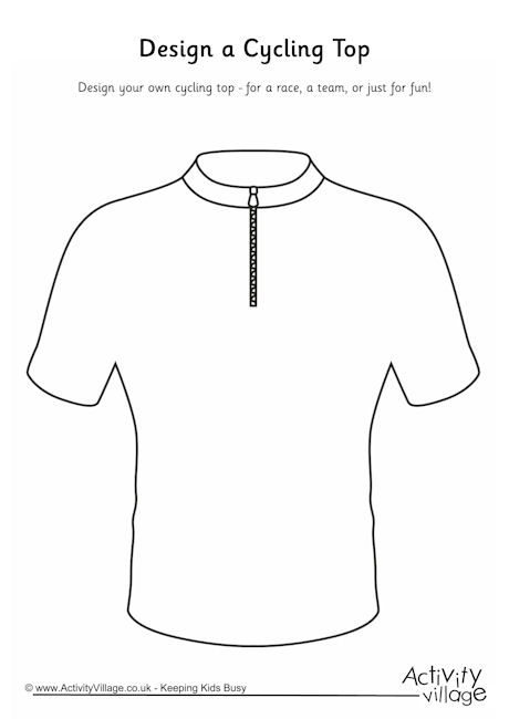 Design a Cycling Top