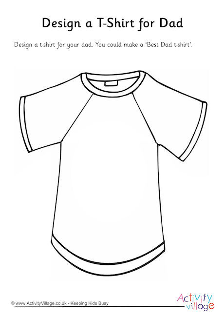 Design a T-Shirt for Dad