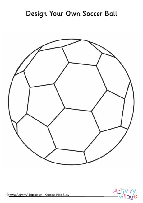 Design Your Own Soccer Ball