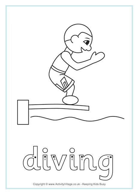 Diving Finger Tracing
