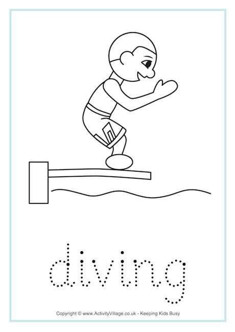 Diving Word Tracing