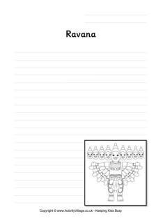 Diwali Story Paper