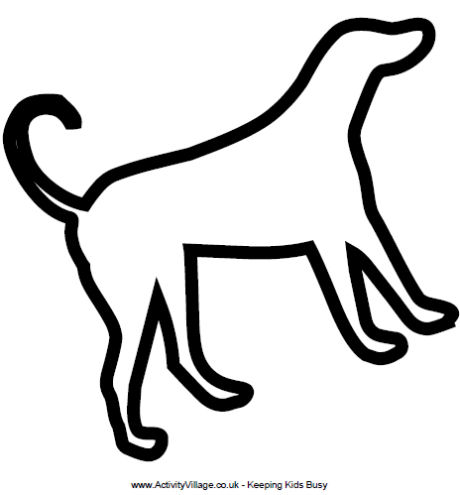 Dog Template To Print