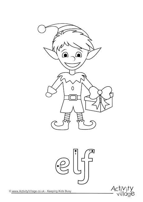 Elf Word Tracing