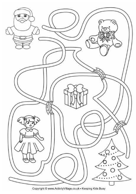 Father Christmas Maze