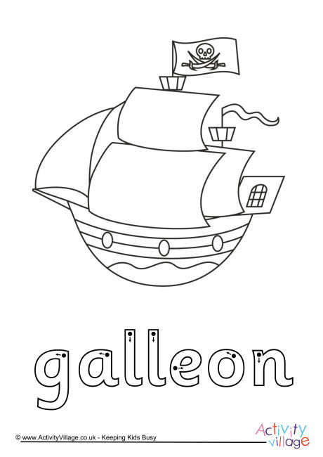 Galleon Finger Tracing