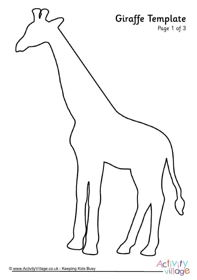 Giraffe Template 2