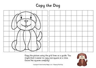 Grid Copy Puzzles