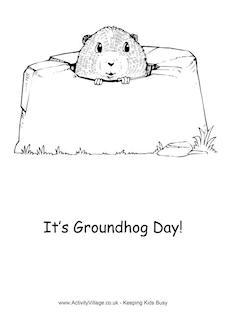 Groundhog Day Printables