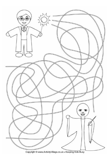 Harry Potter Maze 1
