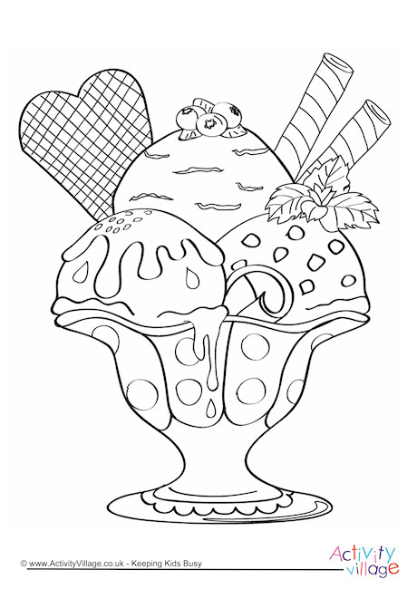 Chocolate Fountain Coloring Oil Based Coloring Pages