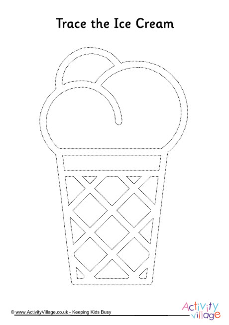 Ice Cream Tracing Page 2