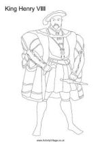 History Colouring Pages for Kids