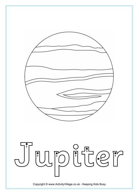 Jupiter Finger Tracing
