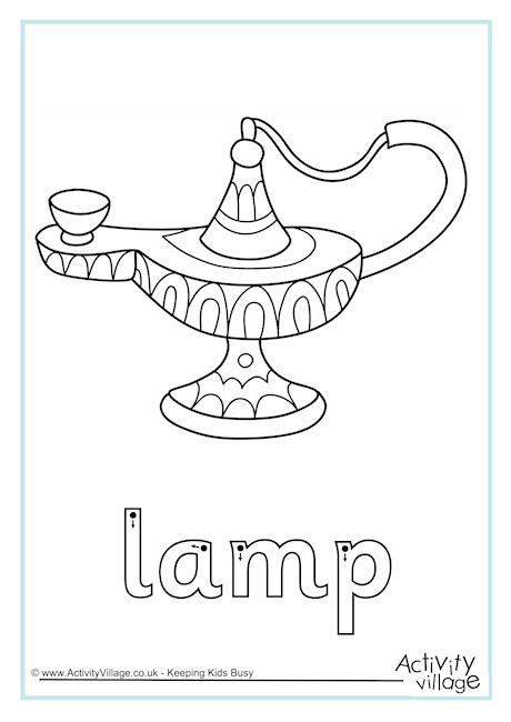 Lamp Finger Tracing