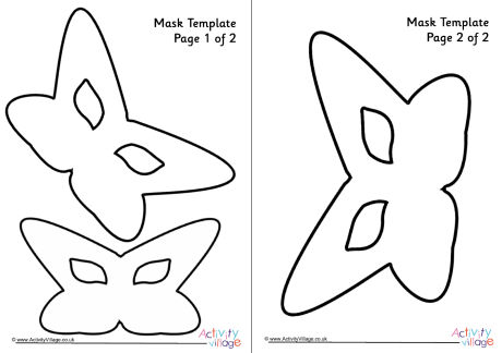Mask Template 10