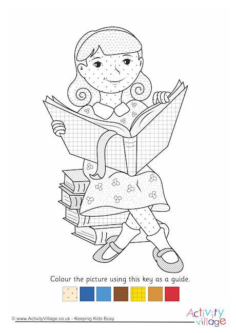 Matilda Colour by Pattern