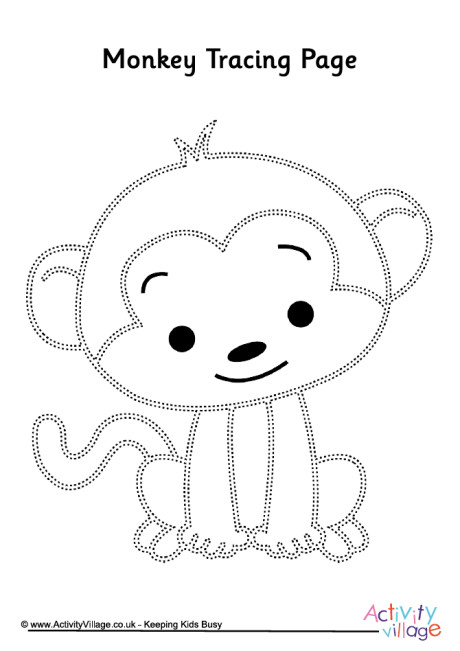 Monkey Tracing Page