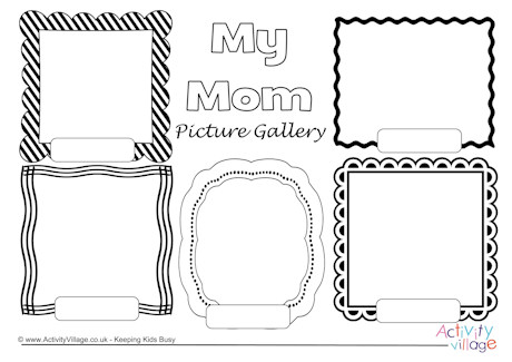 My Mom Picture Gallery