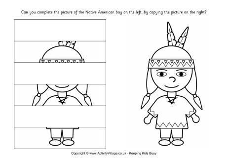 All Worksheets » Complete The Picture Worksheets