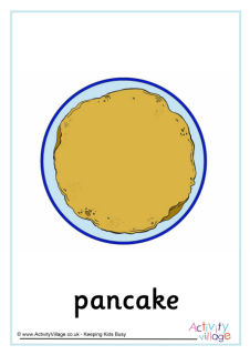 Pancake Day Vocabulary