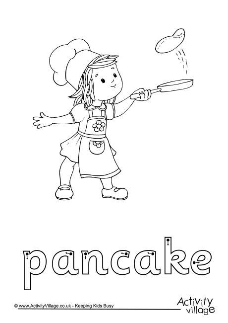Pancake Finger Tracing