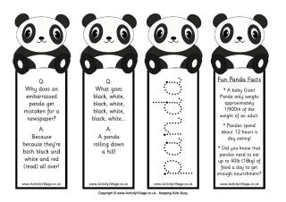 Panda Colouring Pages
