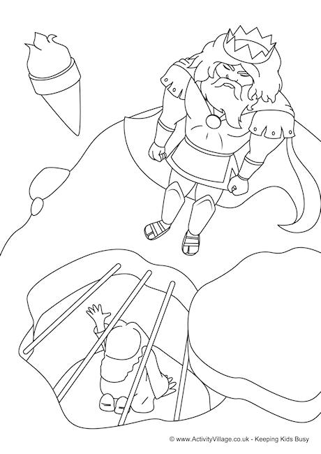 Perseus Colouring Page 1