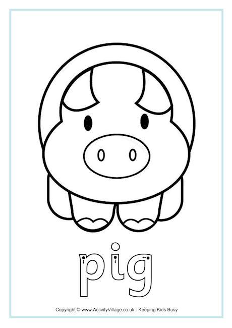 Pig Finger Tracing