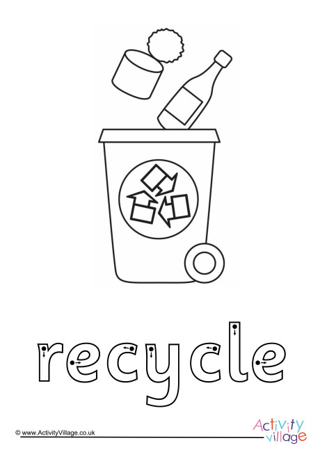 Recycle Finger Tracing
