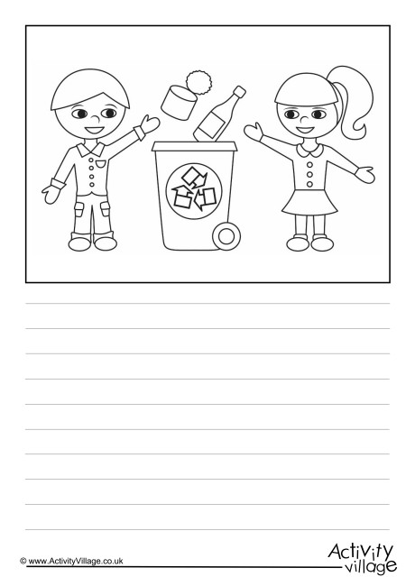 Recycling Story Paper