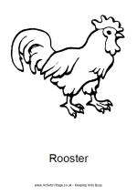 Rooster Printables