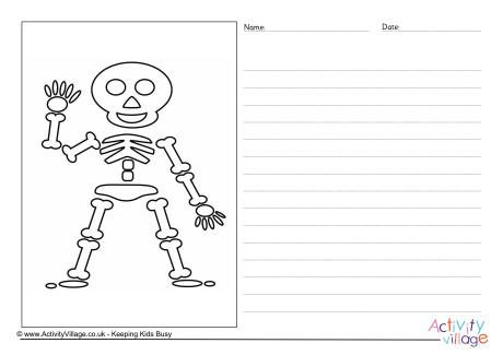 Skeleton Story Paper