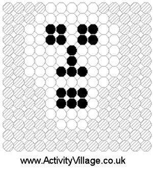 Skull Fuse Bead Pattern