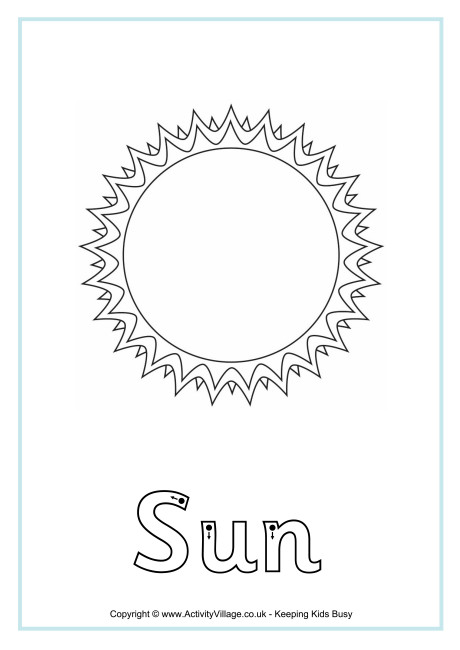 Sun Finger Tracing