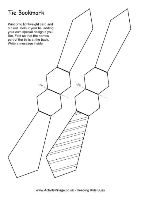 Tie Bookmarks