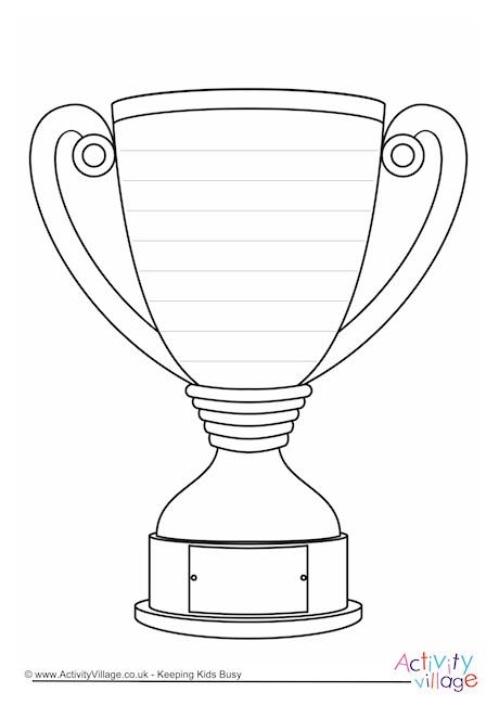 Trophy Writing Frame
