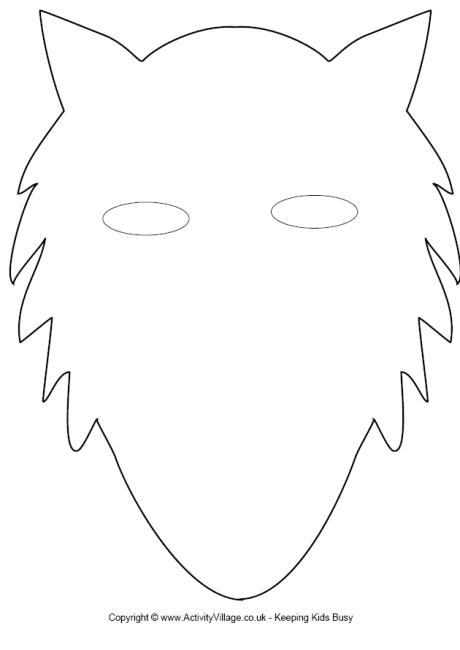 Wolf Mask Craft