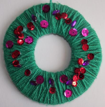 Wool Wreath Craft