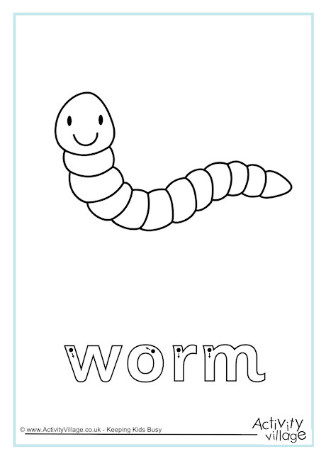 Worm Finger Tracing