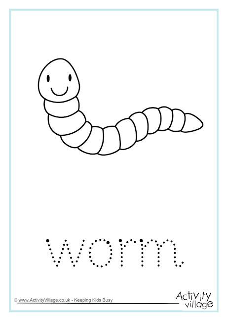 Worm Word Tracing