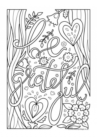 thanksgiving coloring pages # 7