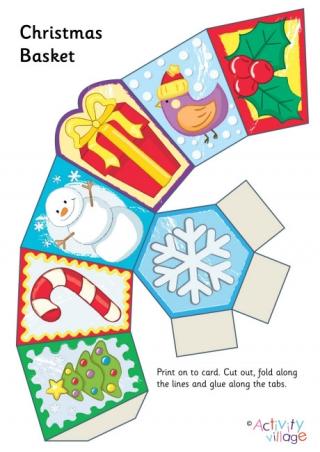 christmas paper chains printable