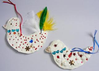 Clay Bird Craft