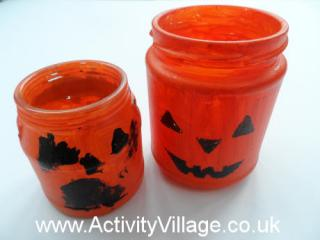 Jack O' Lantern Tea Light Holders