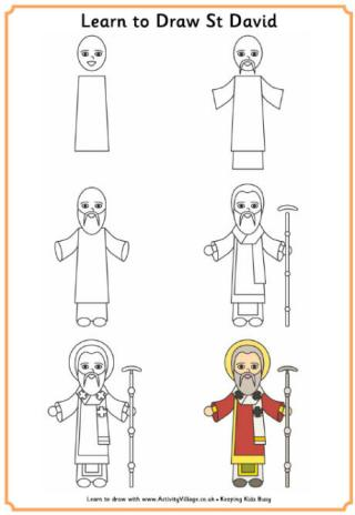 Learn to Draw Saint David