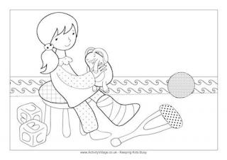 Get Well Soon Colouring Pages